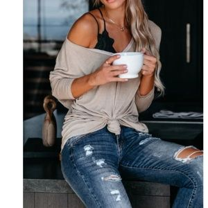ALBINKA Knit Long Sleeve Top